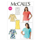 McCall's 6927 Sewing Pattern to MAKE Easy Pullover Tops and Tunics in Bust Sizes