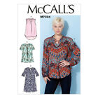 McCall's 7324 Paper Sewing Pattern to MAKE Misses' Loose-Fitting Tops & Tunic