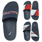 Внешний вид - Nautica Men's Stono Rubber Slip On Retro 90s Sailing Pool Slide Sandals