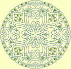 CELTIC QUILT CIRCLES -Design 10-SELECT ANY 9 OR MORE SINGLES FOR FREE SHIPPING!
