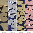 """1/2""""*1/2"""" Brass Heart Stamping Tag Heart Charms Making Supplies 10pcs 102267"""