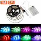 3.3/6.6ft 5050 SMD RGB LED Strip Light Battery Powered Waterproof Party Light US