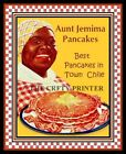 "Black Americana PRINT - Aunt Jemima Pancakes - ""Best in Town!"" - Various Sizes"