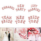 Team Bride Mrs To Be Hen Party Foil Latex Helium Balloon Engaged Wedding Decor