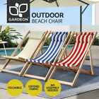 Artiss Folding Deck Chairs Sun Lounge Chair Outdoor Furniture Garden Patio Beach