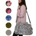 Lou Harvey Large Multi-Function Printed Cross body Travel Diaper Baby Bag