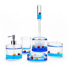 Yeti Decor Acrylic Liquid 3D Floating Motion Bathroom kitchen Accessory set