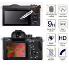 LCD Screen Protector Tempered Glass Shield Guard Film for SONY A6000 A7 A7 II