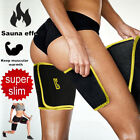 Neoprene Sweat Sauna Body Shaper Arm Thigh Slimmer Wraps Thermo Trainer Sleeves image