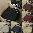 3d Car Front Seats Cover Pu Leather Single Seat Protector Cushion Mat Breathable