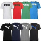 Puma Men's Big Cat and No1 Logo QT T-Shirt Size S M L XL 2XL Shirt Tee New