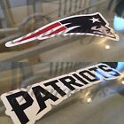 New England Patriots Sticker Decal Vinyl Sign NFL Football tom brady 3 Sizes $7.49 USD on eBay