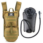 3 Color 3L MOLLE Hydration Pouch Water Pack for Tactical Vest Hydration Backpack