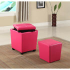 Porch & Den Botanical Heights Papin 2-in-1 Storage Ottoman with Stool