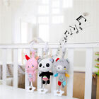 Baby Infant Rattles Plush Animal Stroller Music Hanging Bell Toy Doll L