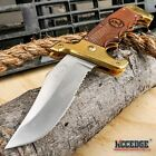 Collectors Real Wood Bowie Assisted Open Folding Pocket Knife EDC Hunting