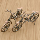 Metal Bicycle Model Mini Iron Bike Present Toy Desktop Craft Home Decor Gift