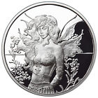 1 OZ SILVER COIN AMY BROWN FAIRY COLLECTION WALL FLOWER 5TH IN THE SERIES # COA
