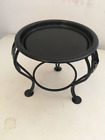 Small Iron Pot Stand Plants Stand Mini Outdoor Pot Holder for Living Room Office