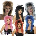 80s Ladies Glam Punk Rock Rocker Chick Tina Turner Wig For A Fancy Dress Costume