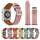 Genuine Leather Strap for Apple Watch Bracelet Replacement Band 42mm 38mm 3 2 1