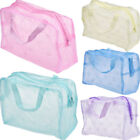 Внешний вид - Transparent Waterproof Cosmetic Bag Toiletry Bags Skin Care Makeup Bag Organizer