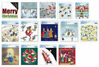 Caltime Square Advent Calendar Cards with envelope 24 doors 186 x 200 mm
