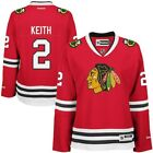 Duncan Keith Chicago Blackhawks Reebok Womens Premier Player Jersey Red