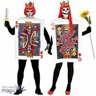 Adults Mens Ladies Playing Card Hearts Couples Halloween Fancy Dress Costume
