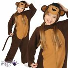 Child Boys Girls Little Cheeky Monkey Jungle Animal Fancy Dress Costume Outfit