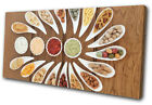 Culinary Herbs Spices Indian Food Kitchen SINGLE CANVAS WALL ART Picture Print