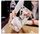 Bling Glitter Case Ring Holder Cute Mirror Back Covers For iPhone Xs Max XR <br/> Fit for Apple iPhone Xs Max / XR / Xs / X / 7 / 8 /Plus