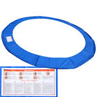 PVC & PE Safety Round Pad Cover Replacement for 10/12/14/15FT Trampoline Frame