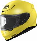 Shoei RF-1200 Solid Color Full Face Motorcycle Street Helmet Brilliant Yellow