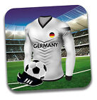 World Cup 2018 Football Shirt & Flag Themed Drink Beer Coasters - Team Germany
