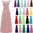 Long Chiffon Wedding Evening Formal Party Ball Gown Prom Bridesmaid Dress 6-20