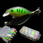 1pcs Fishing Lures Kinds Of Minnow Fish Bass Tackle Hooks Baits Crankbait