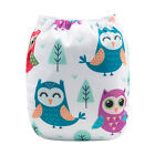 ALVA Baby Cloth Diapers One Size Reusable Pocket Nappy+ 1 4-layers Bamboo Insert