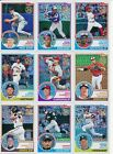 2018 Topps Series 1 & 2 - SILVER PACK 1983 CHROME REFRACTORS - U Pick From List