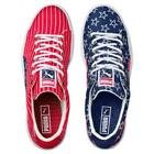 Puma 4th of July Patriotic Embroidered Stars Stripes Canvas Basket Shoes Mns NEW