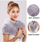100% Real Knitted Rabbit Fur Poncho Women Fur Wrap Female Party triangle towel for sale  China