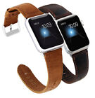 Retro Leather Wrist Watch Strap Band  for iWatch Apple Watch 4 3 2 1 38/42mm image
