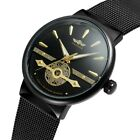 T-WINNER Luxury Man Hollow Full-Automatic Mechanical Waterproof Watch Wristwatch