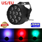 12LED RGBW Color Mixing Par Lamp 8CH Voice Activated Stage Light For Party Stage