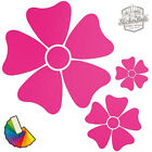 20 Daisy Flower Car & Wall Stickers / Decals   Choose From 30 Colours S3