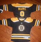 Boston Bruins Toddler NHL Hockey Jersey add any name  number
