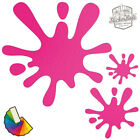 20 Paint Splat Car & Wall Stickers / Decals | Choose From 30 Colours S1