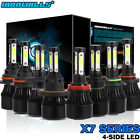 1700W 4side LED Headlighs Kits H1 H4 H7 H9 H10 H11 H13 9004 9005 9006 9007 6000K $25.99 USD on eBay