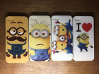 Case For Apple Iphone 4 4s 5 5s 6 6s Minion Kids Cover New Shockproof 360 Hybrid