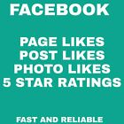Facebook Services - 100% Safe, Fast, Real, Best Prices